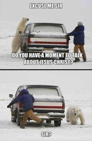 The Polar Bear Vs Penn Jillette Communionchurch